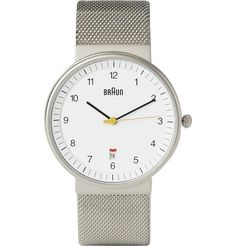 Braun Watch / designed by Dieter Rams