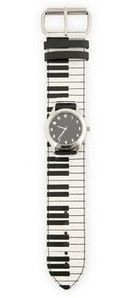 Piano keyboard watch