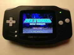 Game Boy Advance Clásica Retroiluminada