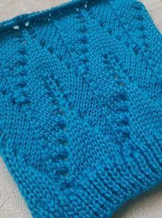 Knitting Charts, Easy Knitting, Knitting Stitches, Knitting Designs, Free Knit Shawl Patterns, Stitch Patterns, Crochet Patterns, Knitted Hats, Knit Crochet