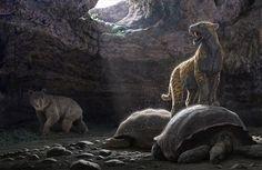 La colina de los Tigres Dientes de Sable, en el Museo Arqueológico Regional de Madrid - Revista de Arte - Logopress