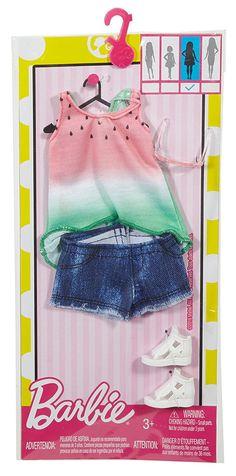 Barbie - (Complete Look Separates) # Barbie Kids, Barbie Doll Set, Barbie Doll House, Mattel Barbie, Barbie Dress, Accessoires Barbie, Barbie Playsets, Barbie Fashionista Dolls, Diy Barbie Clothes