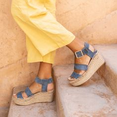 1a25facf8bb LUCIA BLUE - Alohas Sandals The Lucia Blue is handcrafted by artisans in  Spain.