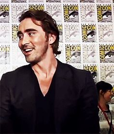 Lee Pace gushing over Cate Blanchett, SDCC 2014   2 of 2.