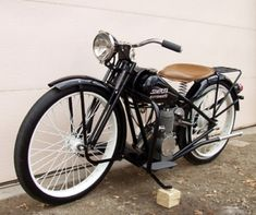 1953 Simplex Automatic Motorcycle For Sale Front