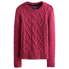 Buy Joules Avelyn Cable Jumper Online at johnlewis.com