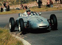 Hans Herrmann, Zandvoort 1961, Porsche 718