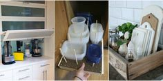 Never fight with a pile of unwieldy pots again -- tips to control kitchen chaos via Women's Day