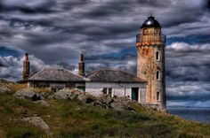 Isle of May old Lighthouse