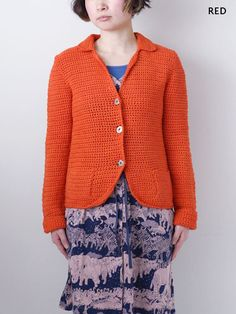 super cute crochet jacket!