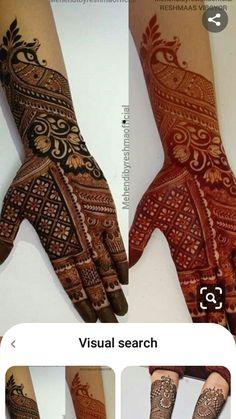 Henna Tattoo Designs Simple, Finger Henna Designs, Legs Mehndi Design, Latest Bridal Mehndi Designs, Full Hand Mehndi Designs, Stylish Mehndi Designs, Mehndi Designs 2018, Mehndi Designs For Beginners, Mehndi Designs For Girls