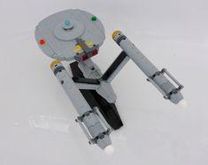 The Enterprise (1966) | by Riskjockey Lego Star Trek, Trek Ideas, Uss Enterprise Ncc 1701, Lego Ship, Star Trek Series, Star Trek Starships, Lego Projects, Lego Moc, Cool Lego