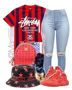 """""""Happy 4th"""" by trill-forlife ❤ liked on Polyvore"""