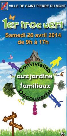 Troc Vert. Le samedi 26 avril 2014 à saint-pierre-du-mont.  09H00