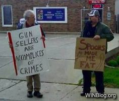 Protest Sign WIN