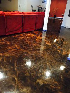 8 best metallic epoxy floors by robinson fiberglass images flats rh pinterest com