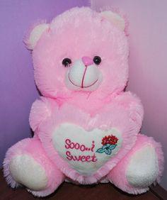 Pinkee Teddy Bear Soo Sweet Meidum,teddy bear, teddy bear online shopping, teddy bear online shopping india