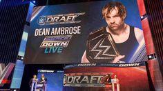Dean Ambrose brings the WWE Championship to SmackDown Live Dean Ambrose, John Cena, Roman Reigns, Wwe Draft, Wwe Champions, Gallows, Wwe News, Wwe Superstars
