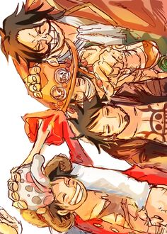 Will of D. - Trafalgar D. Water Law, Monkey D. Luffy, Portgas D. Ace, and Gol D. Roger One piece
