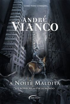 """Capa """"A Noite Maldita"""" de André Vianco - versão final"""