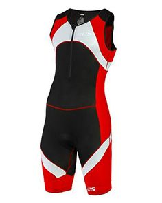 SLS3 Mens Triathlon Tri Race Suit 1 Pocket Skinsuit Trisuit - great from Sprint to Ironman (Red, XXL) - http://www.exercisejoy.com/sls3-mens-triathlon-tri-race-suit-1-pocket-skinsuit-trisuit-great-from-sprint-to-ironman-red-xxl/fitness/