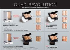 Our powders got a makeover for Fall 2013!