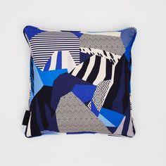Matisse Blue Landscape Cushion
