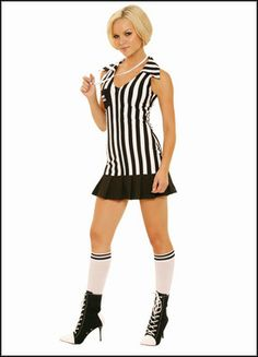 Check out the deal on Racy Referee Costume at Bondage Fetish Store