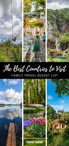 Where should you travel with your family? We've visited 62 countries with our kids so far, and these are our 20 favorite destinations around the world. Best Countries To Visit, Cool Countries, Family Adventure, Adventure Awaits, Travel With Kids, Family Travel, Travel Advice, Travel Tips, Tokyo With Kids