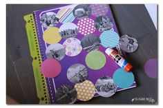 Before your kids go back to school, have them decorate and customize their new school supplies using pictures, gems, and other fun embellishments!