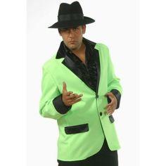 Déguisement veste verte homme luxe