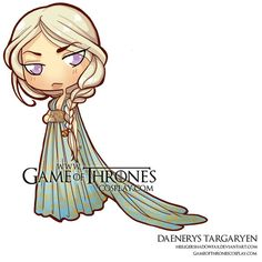Chibi Daenerys Qarth by *CalamityJade on deviantART