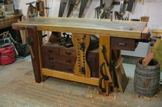 Work bench smack down - by Newage Neanderthal @ LumberJocks.com ~ woodworking community