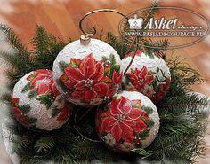 glass balls for christmas