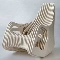 """Mamulengo"" rocking chair"