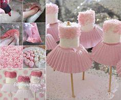 Ballerina pops -Kids party ideas
