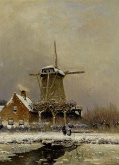 Lodewijk Franciscus Hendrik ('Louis') APOL (1828–1903, Dutch painter)