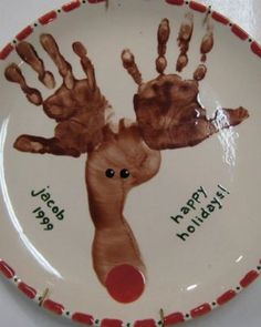 Make a cookie plate for Santa!