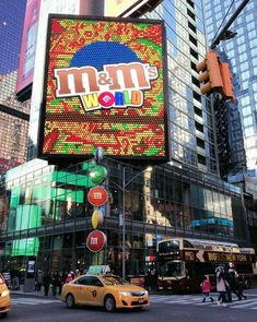 M&M's U.S.A. Store in Times Square, New York