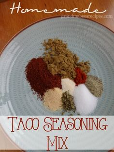 This Taco Seasoning Mix is easy and inexpensive to make (compared to those packets) and tastes even BETTER!