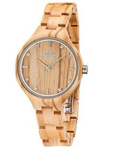 Regalos de madera para mujer - Regalos de madera Rolex, Wood Watch, Unisex, Watches, Accessories, Amazon Fr, Boutique, Free