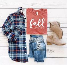 Cute fall graphic te