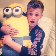 Charlie & his minion friend