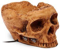 Desktop USB Skullhub