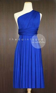 Hey, I found this really awesome Etsy listing at https://www.etsy.com/listing/194352311/short-straight-hem-cobalt-blue