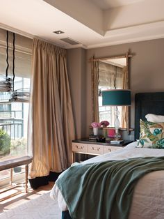 Dream Bedroom, Master Bedroom, Interior Architecture, Interior Design, Drapes Curtains, Home Projects, Sweet Home, House Design, Rooms