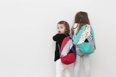 Rucksäcke - DOGGY-BAG, klein Rucksack - ein Designerstück von Nogaravin bei DaWanda