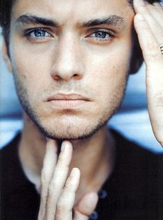 Jude Law - You can lose your soul in those blue eyes.