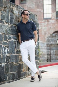 21 Sophisticated Polo Shirt Looks To Wear For Any Occassion #Fashion