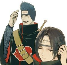"""""""And THEN I swam with my sharks and chased away some stupid dolphins. I ate some shrimp and crab, some sushi..... Pein made me take Orphan to the mall and I chased her crazy brother away. Not Tobi, the other one that's not you or Tobi. THEN, afterwards, I fed Samehada and killed some enemies... THEN I-"""" """"Mnhmm.... Yea, uh-huh......"""" *not even listening* - Makkura Murasaki"""